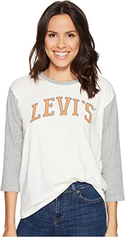 Levi's® Womens - 3/4 Sleeve Sporty Tee