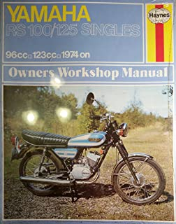 Yamaha RS100 and 125 Motorcycle Owner's Workshop Manual (Haynes owners workshop manuals for motorcycles)