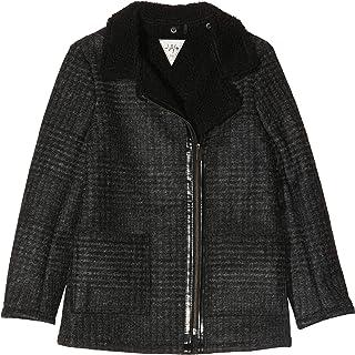 IKKS Junior Manteau Drap de Carreaux Col Perfecto Abrigo para Niñas