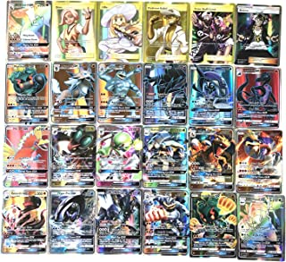 120 pcs Poke Cards TCG Style Card[Mega Cards, Includes 35 Mega Cards 25 Ultra Beast GX]