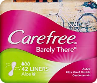 Carefree Barely There Liners Aloe Vera 42 Count