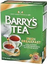 Barry's Tea, Irish Breakfast, 80-Count (Pack of 6)