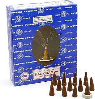 Satya Sai Baba Nag Champa Incense Cones Nagchampa - 12 Boxes = 144 Cones