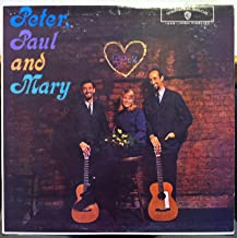 PETER PAUL & MARY s/t LP Used_VeryGood W 1449 Vinyl 1962 Mono Of TAS List Rare