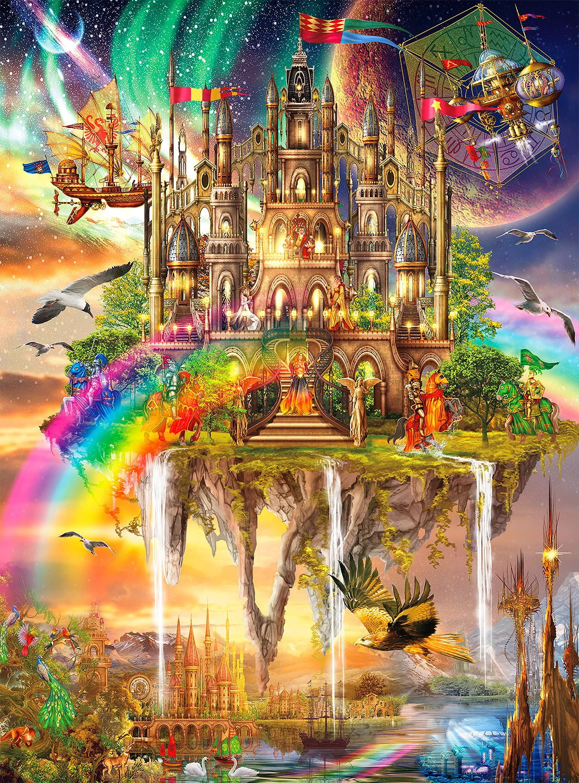 Buffalo Games Collection Rainbow Jigsaw