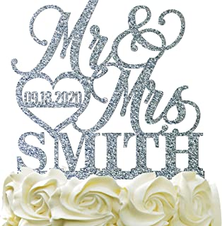 Best last name cake topper Reviews