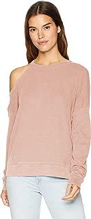 Splendid Women's Long Sleeve Thermal Cold Shoulder