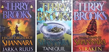High Druid of Shannara Trilogy (3 Book) Hardcover Set includes: Jarka Ruus / Tanequil / Straken