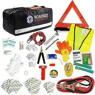Always Prepared Roadside Safety Assistance Kit – Premium Car Emergency Kit with Jumper Cables – Roadside Assistance