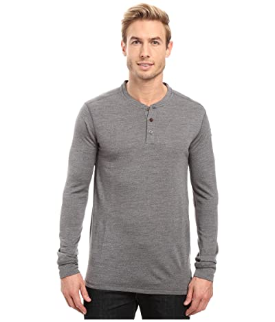 Fjallraven Lappland Merino Henley Long Sleeve (Grey) Men