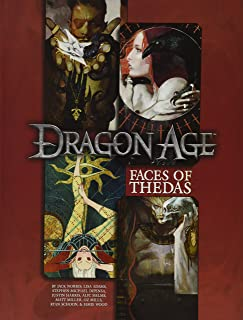 [Lisa Adams] Faces of Thedas: A Dragon Age RPG Sourcebook - Hardcover