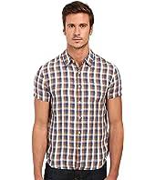 Lucky Brand - Short Sleeve One-Pocket Shirt