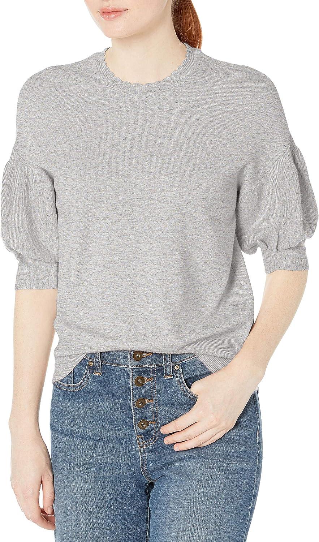 Large-scale sale Bargain sale Ella Moss Women's Megham Sweater Sleeve Puff