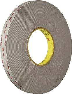 3M VHB Tape RP62 0.5 in width x 5 yd length (1 Roll)
