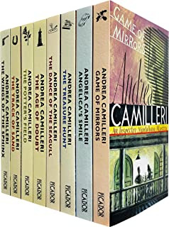 Inspector Montalbano Mysteries Series 2 Books 11 - 18 Collection Set by Andrea Camilleri