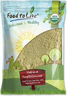 Organic Sprouted Oat Flour, 8 Pounds — Non-GMO Whole Grain Powder, Kosher, Pure, Vegan Superfood, Bulk, Good Source of Iron, Product of the USA
