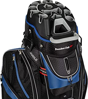 Sponsored Ad - Founders Club Premium Cart Bag with 14 Way Organizer Divider Top