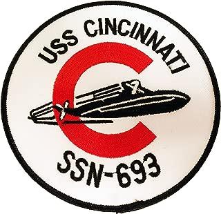 USS Cincinnati SSN-693 Patch