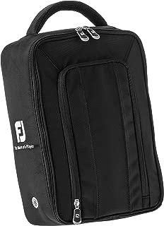 Deluxe Golf Shoe Bag Black Nylon