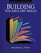 Building Vocabulary Skills, Instructor's Edition, Fourth Edition, 9781591941927, 159194192X, 2010