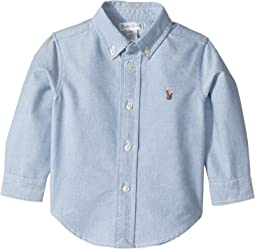 Ralph Lauren Baby Cotton Oxford Sport Shirt (Infant)