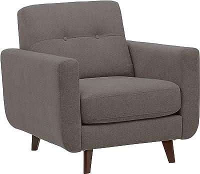 Amazon Com Handy Living Laflin Chair And Ottoman Sky