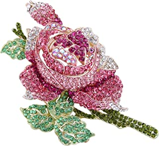Best enamel flower brooch Reviews
