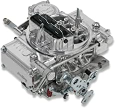 NEW HOLLEY STREET WARRIOR CARBURETOR,600 CFM,4160,MANUAL CHOKE,VACUUM SECONDARIES COMPATIBLE WITH GM, CHRYSLER & FORD 700R4/200R4 THROTTLE LEVER