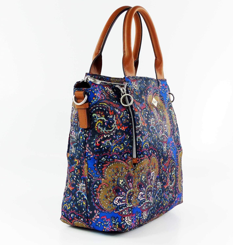 Oilily Picnic Handbag Mhz 1, sac à main Bleu (Nightblue)