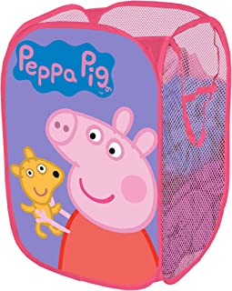 Entertainment 1 Peppa Pig Pop Up Hamper, 13.5 x 13.5 x 21.5