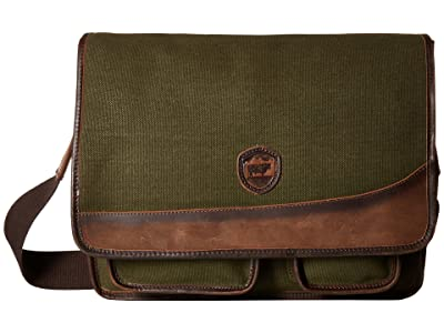 STS Ranchwear The Foreman Messenger (Military Green Canvas) Messenger Bags