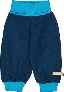 loud + proud Pantalon pour bébé et enfant en laine polaire bio (kbT), certifié GOTS.
