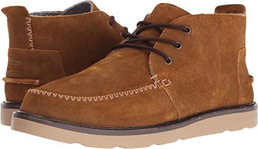 Chestnut Oiled Suede