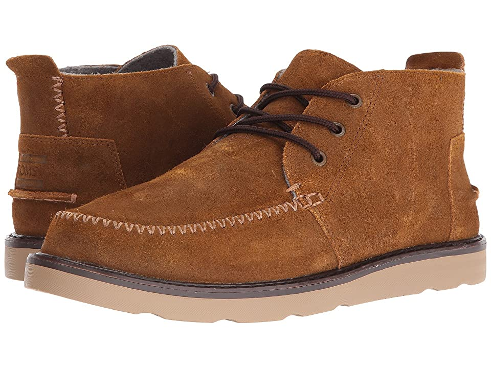 TOMS Chukka Boot (Chestnut Oiled Suede) Men