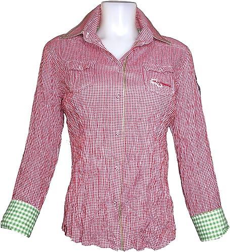 ALMGWAND 1928Chemises & t-Shirts D. BL. felsing 2753Rouge foncé Vert