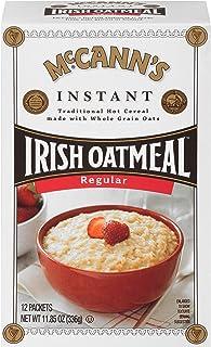 McCann's Instant Irish Oatmeal, Regular, 12 Count