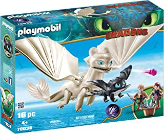 Playmobil Dragons Iii Light Fury With Kids, Multi-Colour, 94 x 385 x 284 mm, 70038