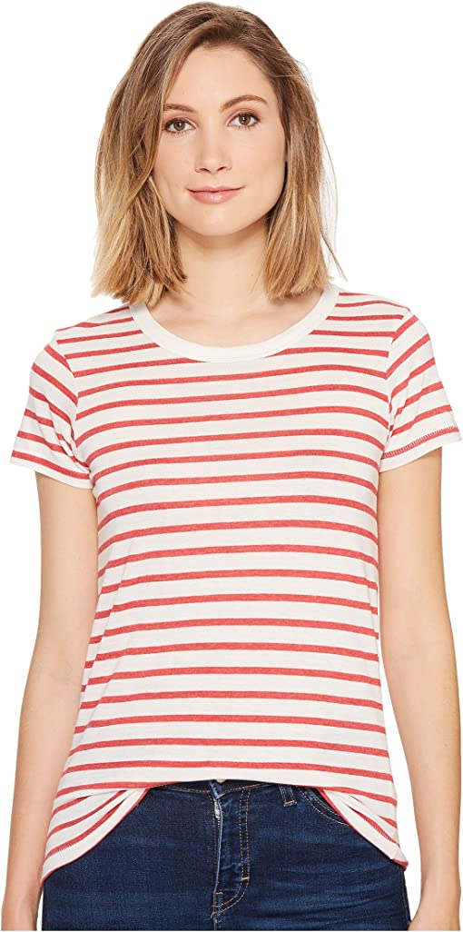 Red Riveria Stripe