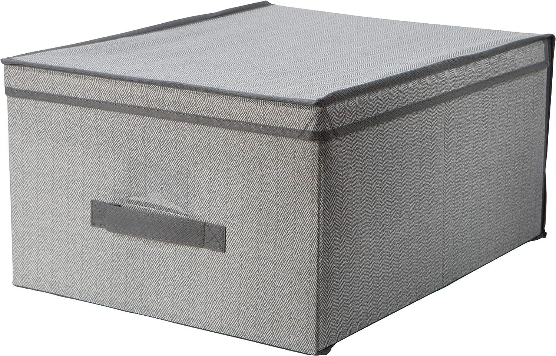 Simplify Jumbo Storage Box in Grey