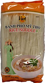 Viet Way Rice Noodle Sticks for Pho, 14oz (3 Packs) (M)