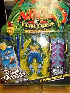 Ninja Turtles The Next Mutation Blacktop Boardin' Venus Figure: The Gravel Grindin Gal