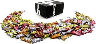Gem Gem Ginger Candy 4-Flavor Variety: One 2 lb Assorted Bag of Original, Mango, Orange, and Lemon in a BlackTie Box