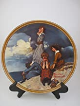 Edwin M Knowles Norman Rockwell (Waiting on the Shore ) Rediscovered Women Series