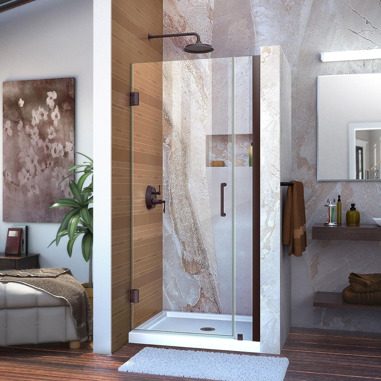 DreamLine Unidoor 32-33 in. W x San Jose Mall 72 Frameless H Hinged Shower Bargain