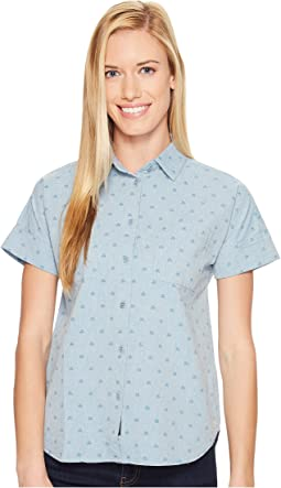 Short Sleeve Honeycomb Shirt