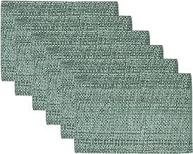 مفرش المائدة Sweet Home Collection TrendTwo Tone مصنوع من القطن المنسوج بنسبة 100%، مقاس 25.4 سم × 48.26 سم