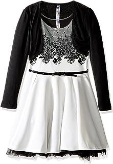فستان بناتي كبير من Beautees مقاس 2 قطعة خفيف على الصدر المتزلج