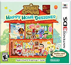 Animal Crossing - Happy Home Designer With Amiibo Card - Nintendo 3DS