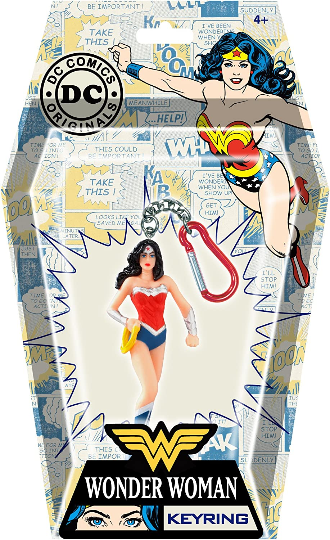 DC Wonder Woman PVC Figural Key Ring