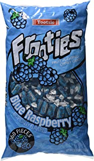 Tootsie Frooties - Blue Raspberry, 38.8 oz bag (360 count)